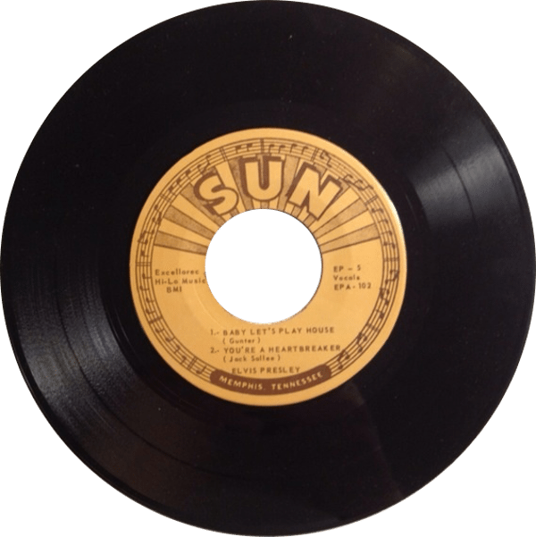 all the elvis sun EPs are bootleg EPs - Elvis – A Touch Of Gold